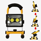 30W LED Rechargeable Flood Light Spot Site Portable Work Camping Fishing Lamp