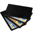 Minimalist Carbon Magnetic Modular Card Holder Slim Rfid Blocking Wallet <br/> carbon fiber wallet magnetic,slim carbon fiber wallet