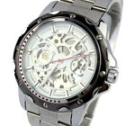 Business Men Automatic Mechanical Stainless Steel Calendar Military Watch