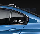 FR-S Motorsport Decal Sticker Toyota Racing Scion TRD JDM Turbo 86 Pair $20.08 CAD on eBay