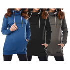 2in1 Maternity Nursing Warm Hoodie Pregnancy Breastfeeding Sweatshirt Tops Women