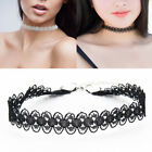 Tattoo Lace Choker Stretch Necklace Chain Neck Collar Gothic Jewelry Crochet New