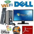 Customize Your Dell Desktop PC Computer Windows 7 10 LCD RAM HDD DVD Warranty