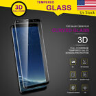 For Samsung Galaxy S8 S8+ Plus 3D Curved Tempered Glass Film Screen Protector