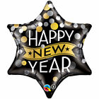 New Years Eve Foil Balloons Various Designs Same day dispatch FREE P&P