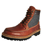 Wolverine 1883 Ricardo Men's Leather Classic Casual Walking Hiking Boots Brown