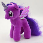 Cute My Little Pony Horse Figure Stuffed Plush Soft Teddy Doll Toy Kid Bday Gift