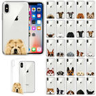 For Apple iPhone X 5.8 inch Slim Dog Design TPU Clear Silicone Gel Case Cover  iphone x cases 5.8 2827694162484040 1