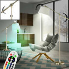 RGB LED Stand Table Lights Fabric Hallway Ceiling Flood Lamps Remote DIMMER