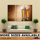 3 Panel Canvas Picture Print - Drinks Beer Stemware 3.2