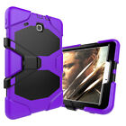 Hybrid Shockproof Rubber Stand Hard Case Cover For Samsung Galaxy Tab A E 3 4 S2