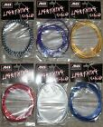 Bmx brake cables - MCS Chrome Lightning Brake Cable for Old School BMX Mountain Cruiser Bike Colors