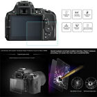 LCD Screen 8H Tempered Glass Protective Cover for Canon 60D 80D Nikon D5600 D750