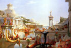 Consummation, third of the Course of Empire series by Thomas Cole (American)
