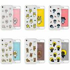KAKAO FRIENDS UV Clear Jelly Shuffle Slim Phone Case Cover For Apple iPhone X