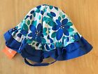 NWT Gymboree Seaside Stroll Floral sunhat Chin strap 6-12M 12-24M 4T-5T Toddler