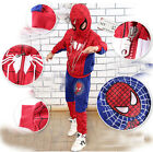 Cool boys spring and autumn role play the season spider-man suit hoodie suit