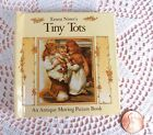 """Children's book """"Tiny Tots"""" An Antique Moving Picture book by Ernest Nister 1991"""