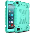 For Amazon Fire 7 7th Generation 2017 Tablet Shockproof Soft Silicone Case Cover