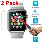2 PACK For Apple Watch Series 1/2/3 Tempered Glass Screen Protect 38/42mm iWatch