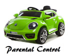 Electric Battery Ride On Car Toy Children Kids Girls Boys 12V Bug remote control