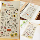 1Sheet Cute Briefpapier Deko Scrapbooking Planer Notizen Aufkleber Bürobedar FL