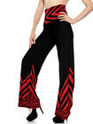 Womens Ladies High Waisted Wide Leg Full Length Palazzo Loose Trouser