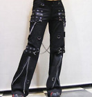 Women Punk Harem Pants Hip Hop Casual Rave Gothic Visual Rock Chain Trousers New