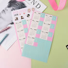 2PCS  Calendar Stickers Notebook Monthly Category Planner Note Index Label   ^
