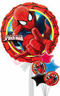 Spider Man Action - Inflated Helium Balloon Delivered in a Box