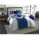 Indianapolis Colts NFL Bedding Set twin full queen comforter sheets bed in bag