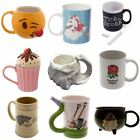 Cupcake Mug Blowing Kisses Emotive Sunderland LOL Harry Potter Elephant Unicorn image