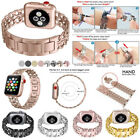 38/42mm Metal Cowboy Style Watch Band Bracelet Strap for Apple Watch Series 321