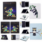 For Apple iPad Series Art Color Painting Design Magnetic PU Leather Case Cover Z