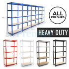 5 TIER HEAVY DUTY STEEL METAL SHELVING INDUSTRIAL GARAGE BOLTLESS RACKING SHELF