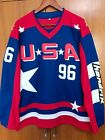EJ Mighty Ducks D2 Movie Team USA Hockey Jersey 96 Charlie Conway Stitched All