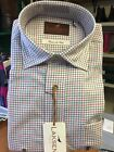 Laksen Alex Cotton And Wool Sporting Shirt Small Check