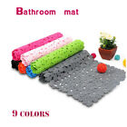 High Quality Large Strong Suction Anti Non Slip Bath Shower  Pebble Mat 9 Colour