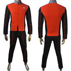 Mens the Orville uniform cosplay helmsman Malloy halloween costume Xmas gift
