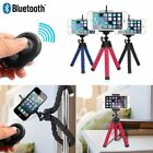 Flexible Smartphone Octopus Tripod Bluetooth Remote for iPhone Cell Phone Camera