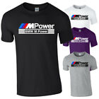 BMW MPOWER M sport Racing Car German Vehicle Auto Tshirt Tee Top Adults Kids NEW