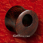 »»» HOLE CUT OUT TAMARIND WOOD SADDLE PLUG TUNNEL 6 u.16mm HOLZ 4990