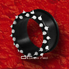 »»» FLEXI SPIKED SILIKON FLESH TUNNEL 8-25mm 8 Farben 1142