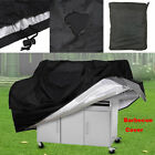 Внешний вид - BBQ S-XL Grill Cover Gas Barbecue Heavy Duty Waterproof Dustdproof Outdoor Black