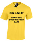 SALAD? THATS WHAT MY FOOD EATS MENS T SHIRT RON SWANSON PARKS RECREATION S- 5XL