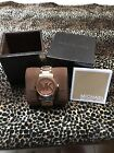 Authentic Michael Kor Watch Rose Gold, Nice!