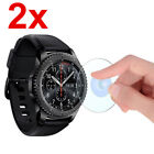 Premium Tempered Glass Screen Protector For Samsung Gear S2 S3 Frontier Watch US