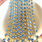 1yd 1-Row SS16 Cystal Rhinestone Trimming Sparse Cup Chain Claw Jewelry Craft O