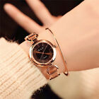 Luxury Womens Business Small Dial Delicate Watch Quartz Analog Wrist Watch Gift image
