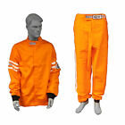 RJS RACING 2 PIECE FIRE SUIT SFI 3-2A/1 JACKET & PANTS ORANGE